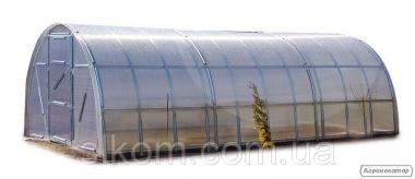 Теплиця Веселка 3х6х2м з полікарбонатом Greenhouse 6 мм