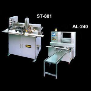 Автоматична лінія для нанесення малюнка на вироби та їх розкладки на деко AL-240 + ST-801