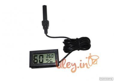 Гигрометр Цифровой, измеритель температуры и влажности в улье