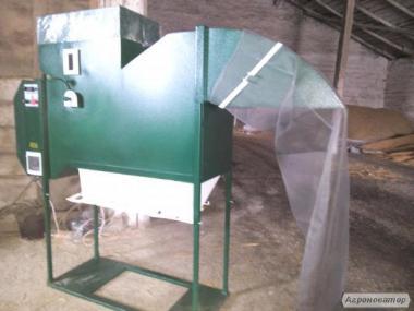 Зерноочистительная машина - сепаратор для очистки и семенного материала