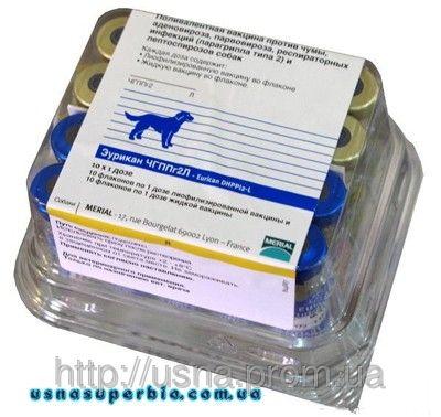 Эурикан (Eurican) DHPPI 2 - L, Меріал, Франція - вакцина для собак