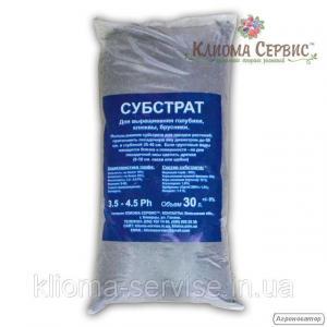 Субстрат для лохини, журавлини, брусниці pH 3.5-4.5 30л