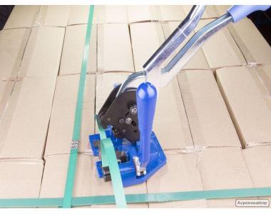 Зелена стрічка пакувальна (стрепінг стрічка)