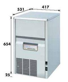 Льдогенератор 30 кг/сутки KL-32A