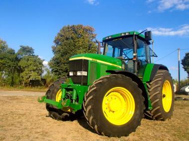 Трактор John Deere 7810 (1999)