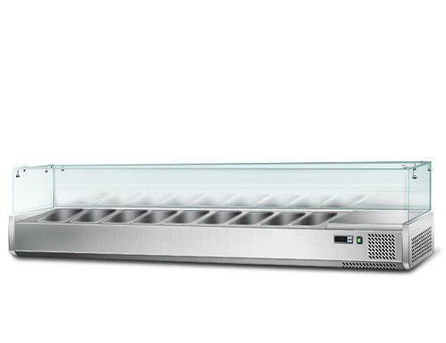 Вітрина для гастроємкостей GGM AGS204 (холодильна)