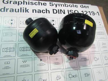 Гідроакумулятори балонні, поршневі, мембранні Bolenz&Schafer,Epoll,Hydac,Olaer,Fox,OMT