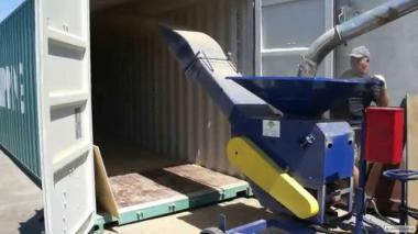 Загрузка стафировка контейнеров (зерно, шрот).