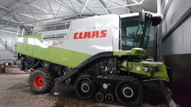 Комбайн Claas Lexion 580+ Terra Trac (2009)