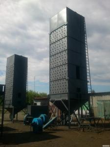 Зерносушилка, мобильная зерносушилка