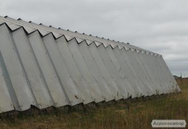 Ангари шатрові алюмінієві
