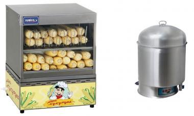 Кукурузоварки - апарати для кукурудзи приготування і варіння (настільні) Доставка по Україні!