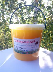Свежий Цветочный мёд урожая 2016г.