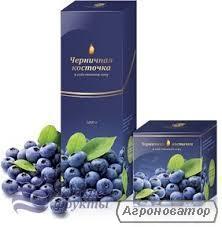 Черничная паста Жидкие Фрукты 550г, 1л
