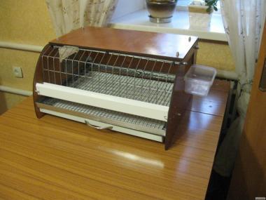 Квартирная декоративная мини-клетка для 10-15 перепелов. +ВИДЕО
