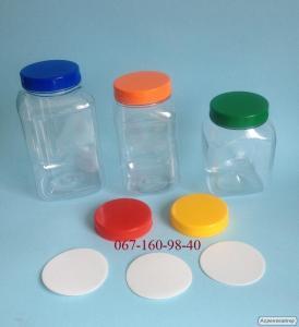 Банки ПЕТ пластикові для харчових продуктів від виробника