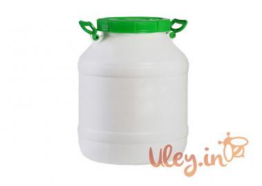 Бідон харчовий пластмасовий, 40 л. Горловина 220 мм. (сертифіковані)