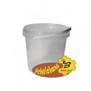 Ведро пластиковое для меда 1 л (сертифицированное)