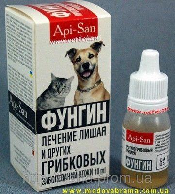 Фунгин, пластик, Апі-Сан Росія (10 мл)