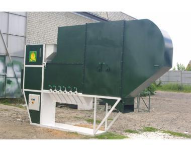Безрешетний аэродинамический сепаратор ИСМ-40 ЦОК чистка / калибровка