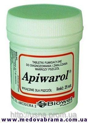 Апиварол, Биовет-Пулави, Польща (таблетки)