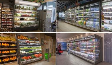 Комплексне оснащення міні-маркетів, супермаркетів. Проект БЕЗКОШТОВНО! Холодильне обладнання для магазинів.