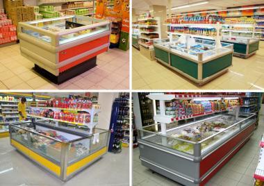 Комплексное оснащение мини-маркетов, супермаркетов. Проект БЕСПЛАТНО! Холодильное оборудование для магазинов.