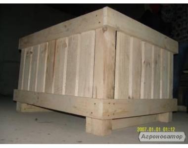 Дерев'яні контейнери для овочів та фруктів