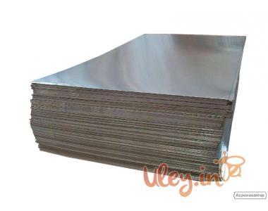 Лист Алюмінієвий 1000 х 800 мм, товщина 0,32 мм. Для оббивки дахів