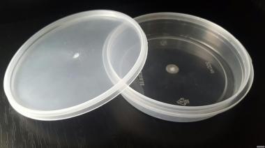 Відра пластикові 0.2 л, 0.3 л(овал), 0.5 л.
