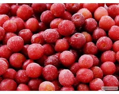 Замороженная вишня (с косточкой)