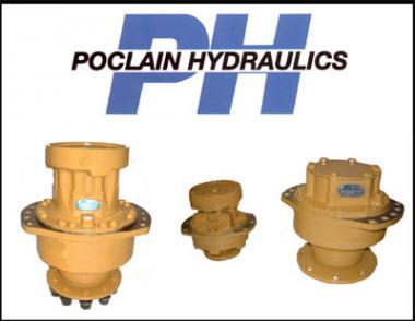 Ремонт гідромоторів Poclain(Pocline)