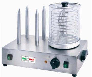 Апарат для хот догів штирьовий HHD-1