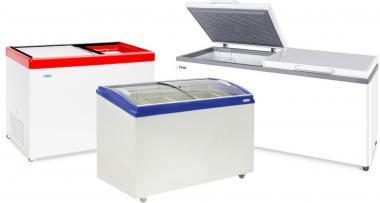 Скрині, скриня-бонети, прикасові і торгові морозильні камери