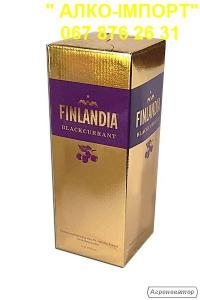 Горілка Finlandia blackurrant (смородина) 2 L, гуртом та в роздріб