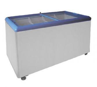 Ларь морозильный с прямым стеклом Scan SD 551