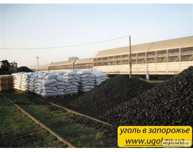 Продам вугілля антрацит горіх і насіння в мішках в Запоріжжі
