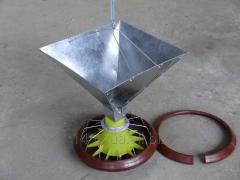 Обладнання для підлогового вирощування курчат бройлерів ОПН-Ф-1