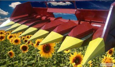 Жатка для збирання соняшника ПСП