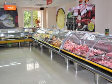 Холодильные витрины на выносе под магазин, мини-маркет, супермаркет