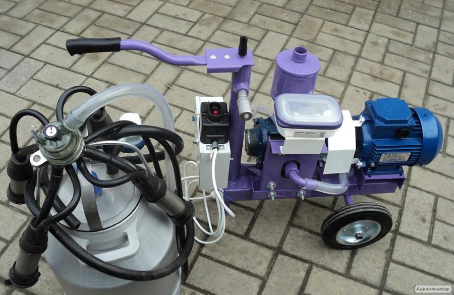 Доильный аппарат УИД-10 маслянный насос 10м3/ч