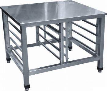 Подставка под пароконвектомат и печи из нержавеющей стали (нержавейка)