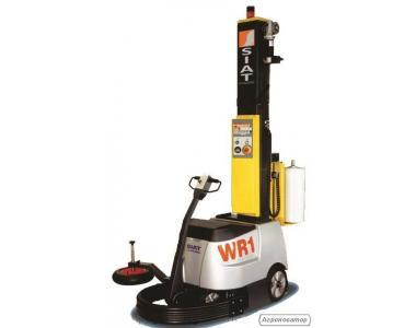 Мобильный передвижной робот паллетообмотчик WR100 SIAT