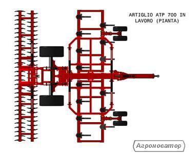 Глубокорыхлитель ARTIGLIO Diablo АТР 700  Производитель: GASPARDO