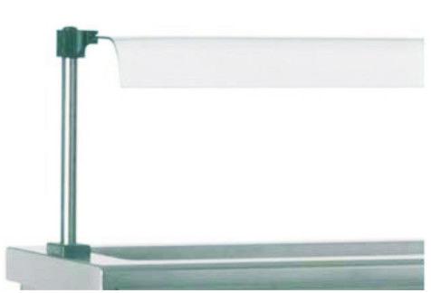 Полиця скляна SAV1450
