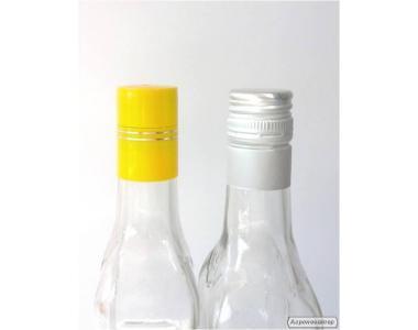 Ковпачок для скляної гвинтовий пляшки