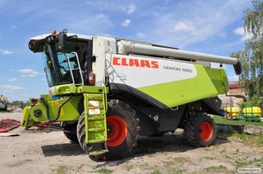 Комбайн зерноуборочный CLAAS LEXION 580 (2005 г)