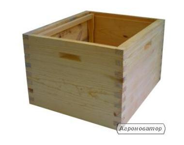 Комплектуючі для вуликів-корпус на рамку 300 мм (Дадан)