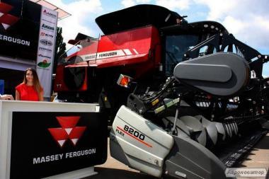 Комбайн Massey Ferguson T7