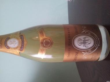 Шампанське Луї Родерер Кристал біле 0,75л 2004 року
